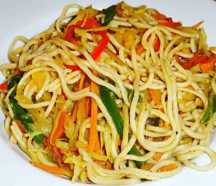 recetas de fideos chinos con vegetales