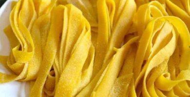 recetas de fideos fetuccini caseros