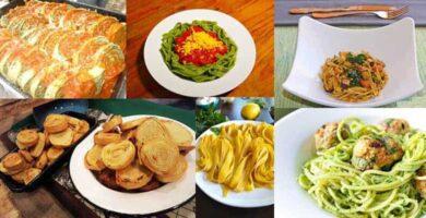 recetas de fideos caseros