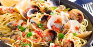 recetas de fideos a la vangole