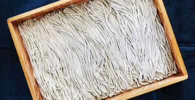 fideos frescos de trigo sarraceno