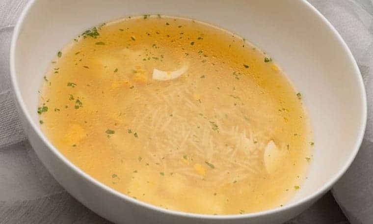 recetas de sopa de fideos de karlos arguiñano