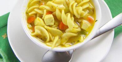 receta de sopa de fideos paras bebes